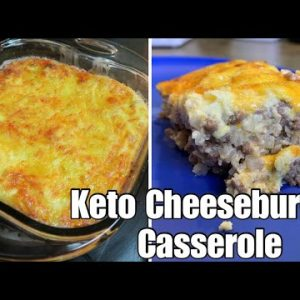 Keto Cheeseburger Cauliflower Casserole | Easy Keto Casserole Recipe | Budget Friendly