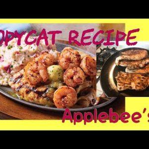 COPYCAT APPLEBEE'S CHICKEN & SHRIMP | SIZZLING SKILLET RECIPE | KETO FRIENDLY