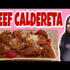 LOW CARB BEEF CALDERETA / Keto friendly / Filipino Style / Lutong Pinoy    Alma's Kitchen Trebbin