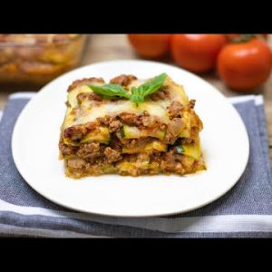 The Best Zucchini Lasagna Recipe (Not Watery) – Keto & Low Carb