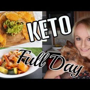 KETO WEIGHT LOSS 2018 FULL DAY OF EATING    EASY SHRIMP RECIPE