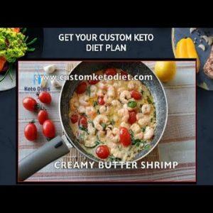 Creamy Butter Shrimp Keto Recipes