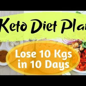 Keto Diet Plan for Weight Loss   Lose 5 Kgs in 10 Days   Indian Veg Ketogenic Diet Plan
