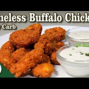 Low Carb Boneless Buffalo Chicken – Low Carb Keto Chicken Wings