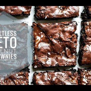 The Best Guiltless Keto Walnut Brownies   Easy Fudgy & Moist Brownies   Sugar-free   Only 2g carb