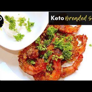Easy Keto Snack Recipe – No carb Breaded Shrimp [Keto, Health and You]