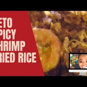 KETO SHRIMP FRIED RICE – KETO RECIPE – KETO DIET – KETO SOUL FOOD