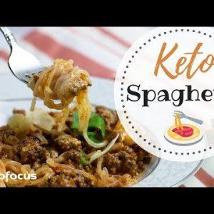 KETO SPAGHETTI | Miracle Noodle Recipe | Easy Low Carb Spaghetti Recipe