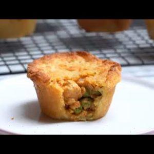 Keto Recipe – Mini Chicken Pot Pies