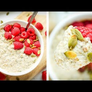 Keto Oatmeal In 5 MINUTES | One of THE BEST Easy Keto Breakfast Recipes
