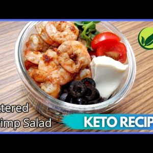 Keto Buttered Shrimp Salad (Keto Diet Recipe) For Weight Loss #59