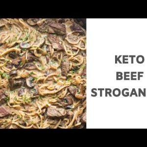 Keto Beef Stroganoff