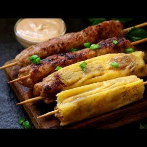 Thai Inspired Keto Kebabs | Keto Recipes | Headbanger's Kitchen