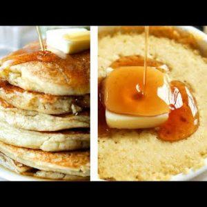 Keto Pancakes in 1 Minute | EASY LOW CARB Almond Flour Keto Pancake Recipe!