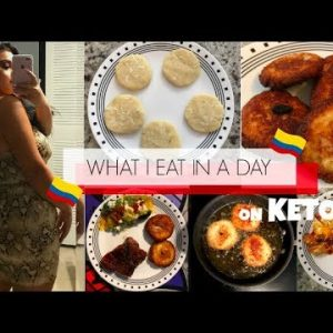 THE BEST KETO AREPAS RECIPE!!  🇨🇴WHAT I EAT IN A DAY ON KETO! |