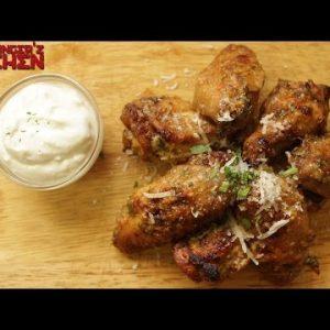 Garlic Parmesan Chicken Wings | Keto Recipes | Headbanger's Kitchen