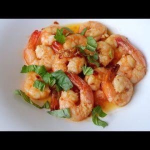 Keto Microwave Garlic Butter Shrimp Recipe
