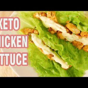 KETO Chicken Lettuce Wraps Recipe| Healthy Keto Chicken Recipes Easy | Foodiy