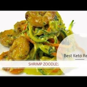 Zoodles | Shrimp Zoodles | Best Keto Recipe | Zucchini Noodle | Weight loss Recipe