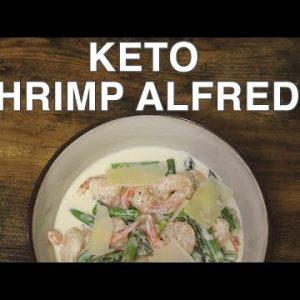 Keto Shrimp Alfredo Recipe | How to Cook Keto Shrimp Alfredo without Pasta in One Pot