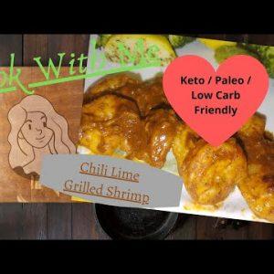 Chili Lime Shrimp Recipe (easy) Keto / Paleo / Low Carb friendly