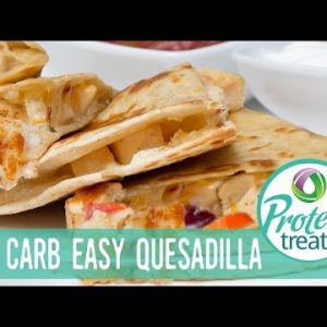 Low carb Chicken Quesadilla Recipe Protein Treats by Nutracelle