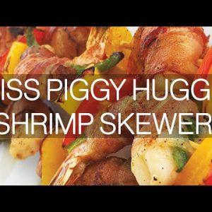 Miss Piggy Huggin' Shrimp Skewers | Look Great Naked Healthy Seafood Recipes (Keto)