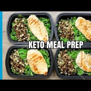 How To Meal Prep – Ep. 72 – KETO CHICKEN (4 Meals/$3 Each) – KETO MEAL PREP