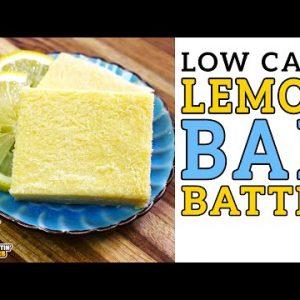 Low Carb LEMON BAR Battle 🍋 The BEST Keto Lemon Bars Recipe!