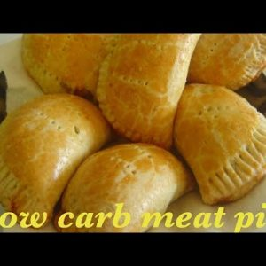 HOW TO MAKE THE BEST LOW CARB MEATPIE/KETO MEAT PIE