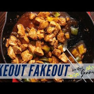 Keto Sweet and Sour Chicken (No Frying!)