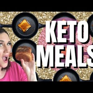 🌞 BEST Keto Bread + Easy Keto Meals 🌞 Sola Low Carb Bread