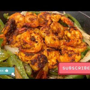 তান্দুরি চিংড়ি | Spicy & Smoky Tandoori Shrimp Recipe | Keto Friendly Shrimp