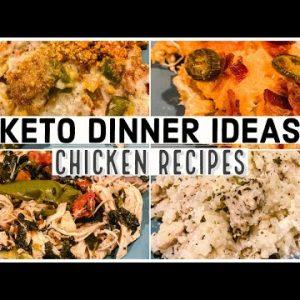 KETO CHICKEN RECIPES   Keto Dinner Ideas   Suz and The Crew