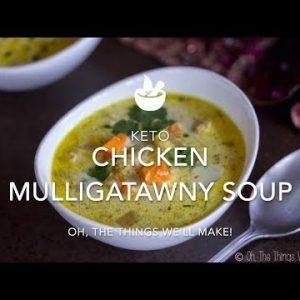 Keto Chicken Mulligatawny Soup (In an Instant Pot)