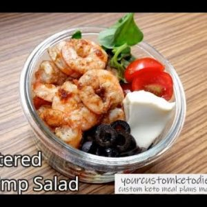 Keto Buttered Shrimp Salad Recipe