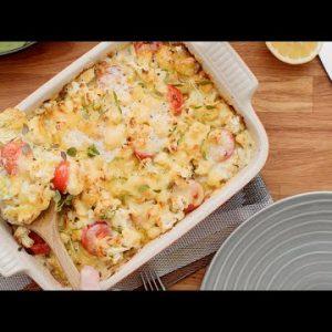 Keto chicken casserole • Easy dinner!