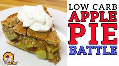 Low Carb APPLE PIE Battle – The BEST Keto Mock Apple Pie Recipe!