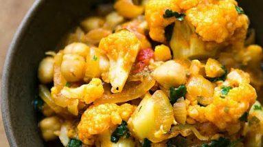 Keto Chicken and Cauliflower Curry – healthy recipe channel – keto meal prep – chicken recipe