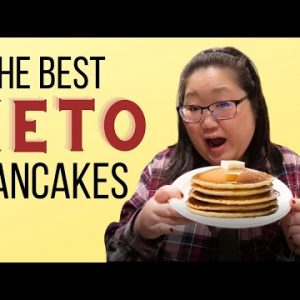 The Best Keto Pancake Recipe | Almond Flour & Coconut Flour | Low Carb Breakfast Meal