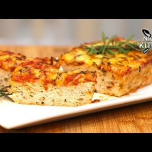 Keto Cheesy Chicken Meatloaf   Moist & Juicy Low Carb Recipe