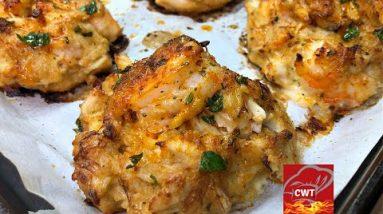 Shrimp Stuffed Crab Cakes Recipe