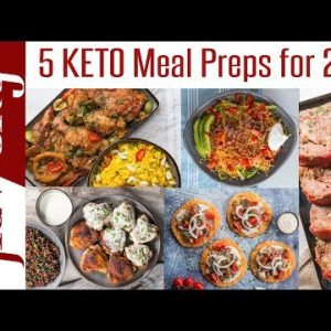5 Keto Meal Prep Recipes For Weight Loss – 2019 Clean Eating