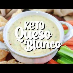 Best Keto Queso Blanco Recipe (White Cheese Sauce)