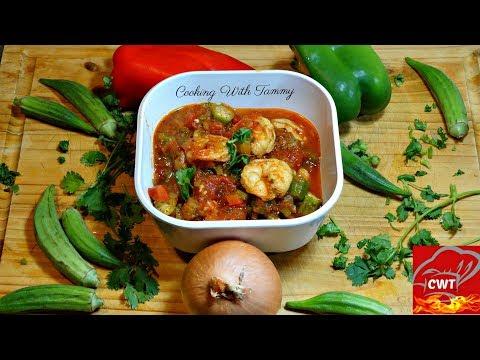 Shrimp And Okra Creole Recipe