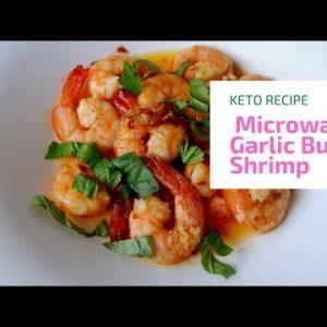 Keto Garlic Butter Shrimp Recipe | KETO RECIPES | Custom Keto Diet | My Stay Healthy