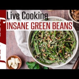 🔴 Garlic Butter Chicken w/ Insane Green Beans – From Our New Keto Cookbook