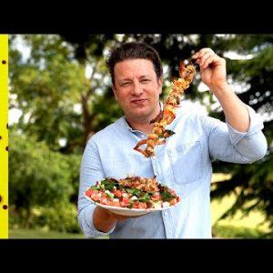 BBQ Prawns | Jamie Oliver