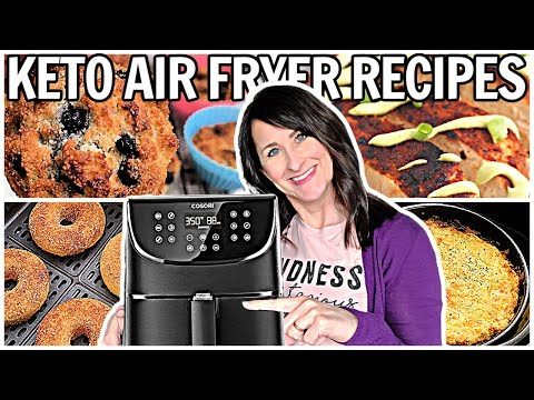 10 Keto Air Fryer Recipes – Healthy LOW CARB for ANYONE!