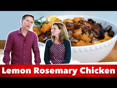 Keto Lemon Rosemary Chicken | Eric and Karen Berg